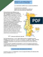 Os transportes e as comunicações e a qualidade de vida da população (11.º)