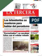 Diario La Tercera 11.02.2016
