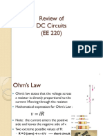 EE-221-Review of DC Circuits