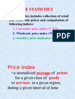 Cost Indices