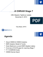 HIMSS EMRAM Stage 7 DMT