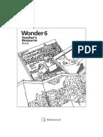 Wonder 6 Teacher´s book