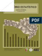 Relatório Criminal de Santa Catarina
