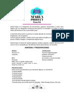 Marla Project - Press Kit