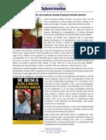 Femicidio de Jacoba Elizabeth Arévalo Garrido, sigue impune