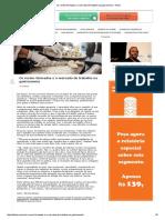 Os Recém-Formados e o Mercado de Trabalho Na Gastronomia - Infood
