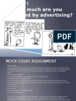 mla lesson-mock essay