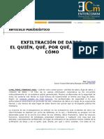 AP Intel Security - Exfiltración de datos - El quién, qué, por qué, dónde y cómo