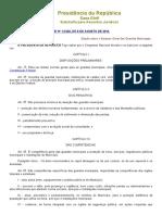 Estatuto Guarda Municipal Lei Nº 13.022