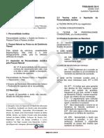 Direito Civil TRT 2014 Aula 01