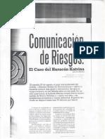 Comunicacion de Riesgos