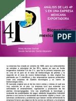 Análisis de las 4p´s en una empresa mexicana