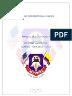 Manual de Convivencia 2015- 2016