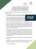 Criterios Ingreso Promocion IMT