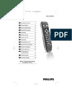 Mando a Distancia Universal Philips Sru3030