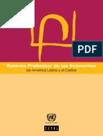 Balance Preeliminar Economias Caribe