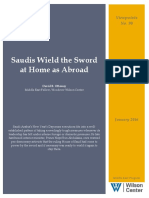 Saudis Wield the Sword at Home as Abroad