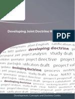 Developing Joint Doctrine Handbook