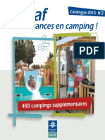Catalogue Campings VACAF 2015