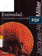 Jacques-Alain Miller - 2010 - Extimidad