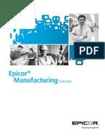 Epicor 10 Visión General de Manufactura
