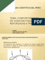 Diapositiva de Comportamiento de Vigas Rectangulares