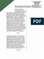 Jackie Robinson West Lawsuit 1/11/16