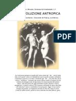 Conforto, Giuliana - La Rivoluzione Antropica