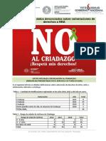 Datos sobre criadazgo