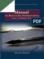 Manual de Redaccion Jurisdiccional Carlos Perez Vazquez