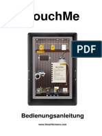 TouchMe-Bedienungsanleitung