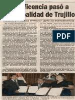 22-03-11 Beneficencia pasó a Municipalidad de Trujillo