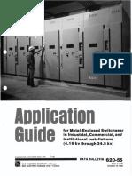 guia de aplicacion del uso de celdas metal clad