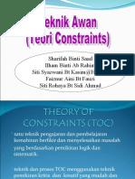 Teknik Awan/ Tecnique Of Constraints (TOC)