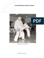Traditional Karate Throws