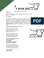 Celebración Cena de Casabe y Agua 2016