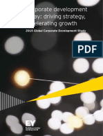 EY 2015 Global Corporate Development Study