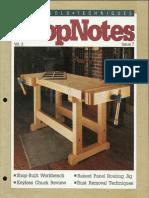 ShopNotes #07 - Shop Built Work Bench.pdf
