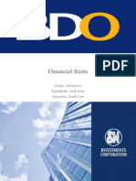 MGT 5- Financial Ratio (BDO)