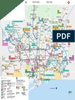 Plànol xarxa de Metro Barcelona