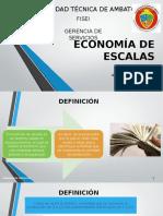 Economia de Escalas