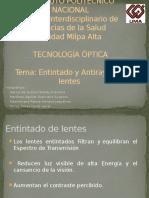 Dev_temp_Entintado y Antirayas de Lentes