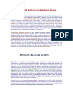 Microsoft Business Centers