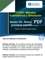 Simulación y Procesos Estocásticos