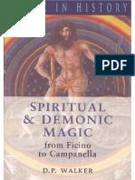 Spiritual and Demonic Magic From Ficino to Campanella