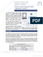020 01 Harmonic Filter and Capacitor Bank Application Studies
