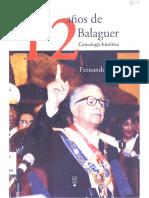 Infante, Fernando - 12 Años de Balaguer