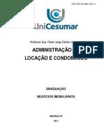 Administração de Condomínios e Locação