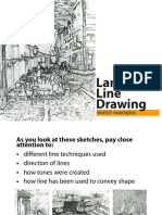 Landscape Line Drawings Examples