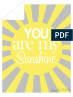 84217074 Sunshine Prints by Dimple Prints